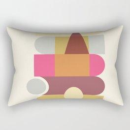 Modern Totem #society6 #decor #buyart #artprint Rectangular Pillow