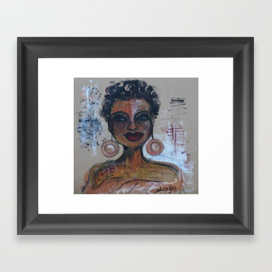 Diva Framed Art Print