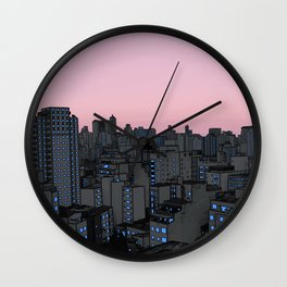 Skyline IV Wall Clock