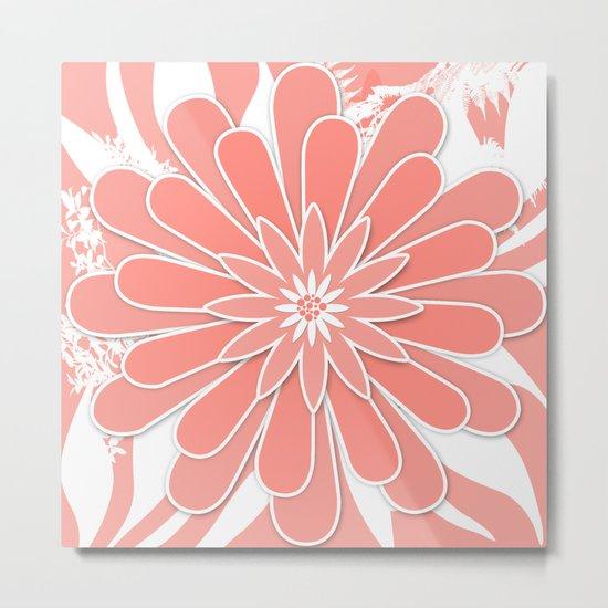 Coral flower . 2 Metal Print