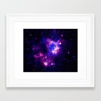 nebula Framed Art Prints featuring nebulA. by 2sweet4words Designs