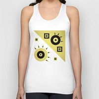 sunshine Tank Tops featuring sunshine by simay