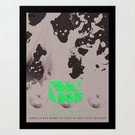 BLK365 Series - Radio Art Print