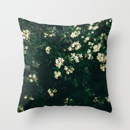Plants background Throw Pillow