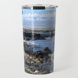 bumpy beach Travel Mug