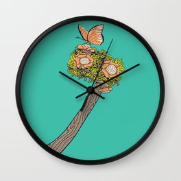 No Steel Today Wall Clock