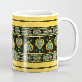 Persian Tapestry Yellow Coffee Mug