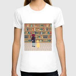 Take a book to kennel T-shirt