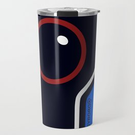 Futuristic Cyborg Logo 2 Travel Mug