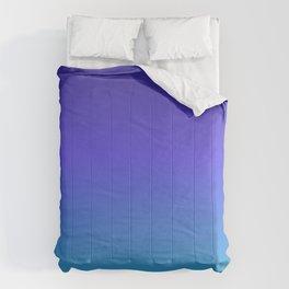 Hipster deep sea gradient Comforters