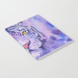 purple tiger Notebook