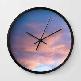 Sunset Colours - Photography Art Wall Clock