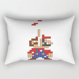 Super Mario Tetris Rectangular Pillow