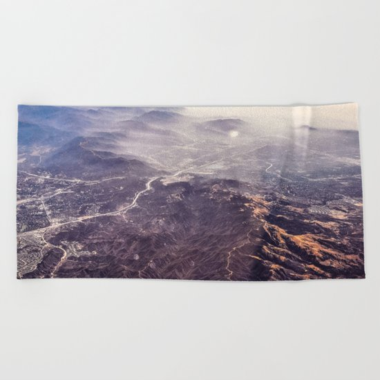 The World Below Beach Towel