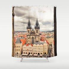 PRAGUE 3 Shower Curtain