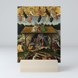 "Sandro Botticelli ""The Mystical Nativity"" Mini Art Print"