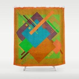 Geometric illustration 52 Shower Curtain