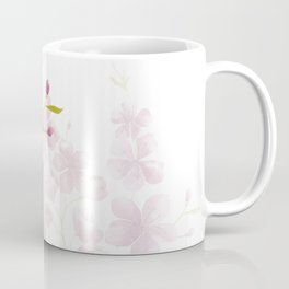Spring Cherry Blossom Floral Watercolor Style Coffee Mug