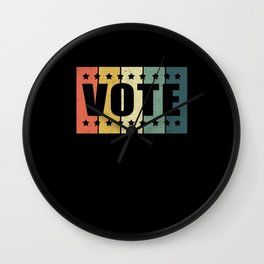 Vote Election Voters Voter Wall Clock