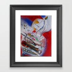 jupiter juice Framed Art Print