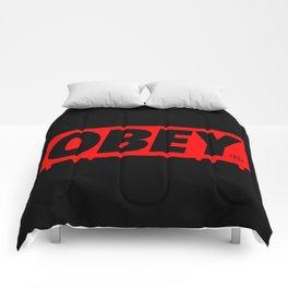 OBEY Bleeding Comforters