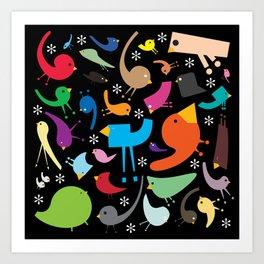 Jolly Jumble Art Print