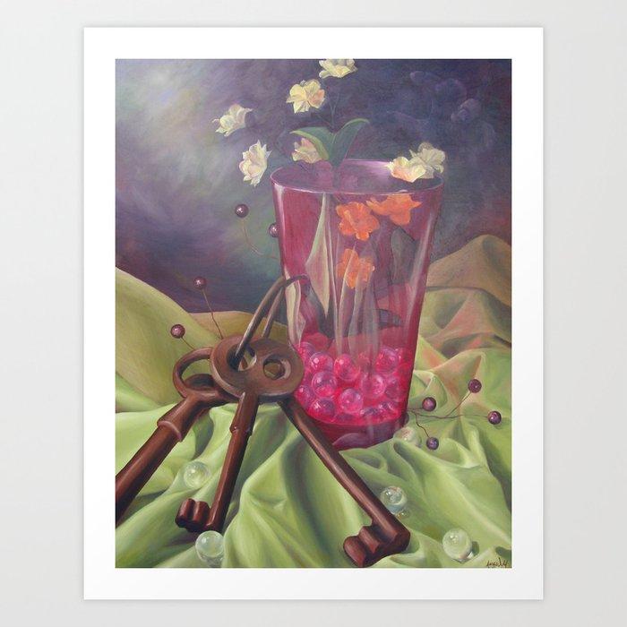 Glass Half Full Kunstdrucke