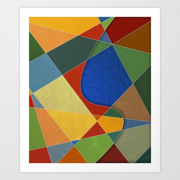 Abstract #329 Art Print