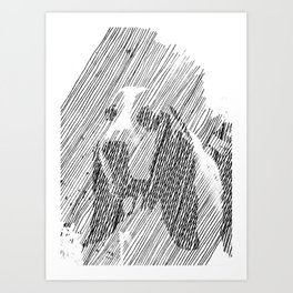 hush puppies Art Print