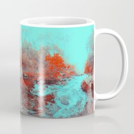 River in the Mystic Forest — My secret inner place Coffee Mug