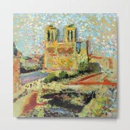 Henri Matisse Notre Dame Metal Print