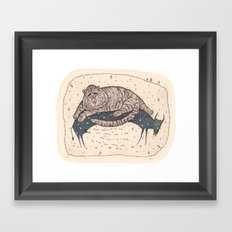The year of Tiger Framed Art Print