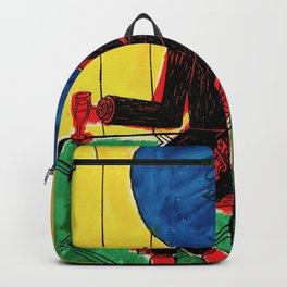 Bleuberry - Pop Art Surrealism Art Backpack