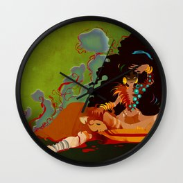 Calypso the Voodoo Priestess  Wall Clock