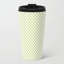Daiquiri Green Polka Dots Travel Mug