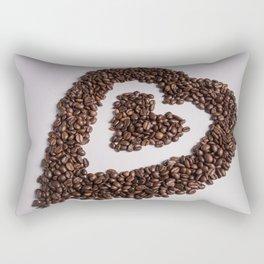 coffee heart #society6 #decor #buyart Rectangular Pillow