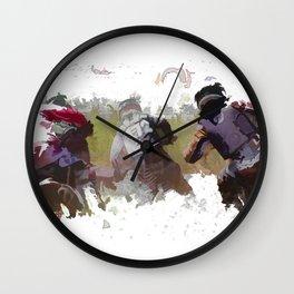 Dirt-bike Racers Wall Clock