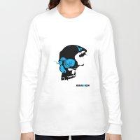 kraken Long Sleeve T-shirts featuring Kraken by Madera Arts