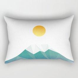 遠山の目付 (Day) Rectangular Pillow
