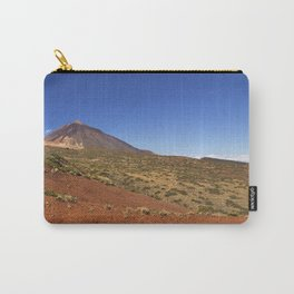 Mount Teide peak on Tenerife above the clouds Carry-All Pouch