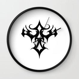 Tribal arrowhead Wall Clock