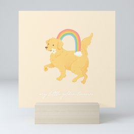 Golden Retriever Mini Art Print