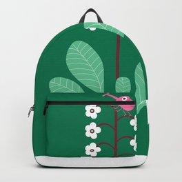 Simple flower Backpack