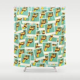 Instant Deluxe Shower Curtain