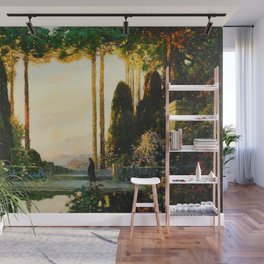 The Enchanted Garden by Thomas Mostyn Wall Mural
