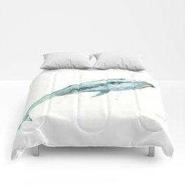 Whale in the OCean Comforters