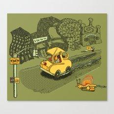 S-Car-Go! Canvas Print