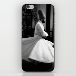 The Whirling Dervish of Turkey iPhone Skin
