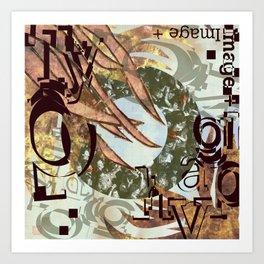 Image + Type Art Print
