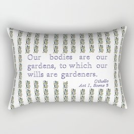 Othello quotation Rectangular Pillow